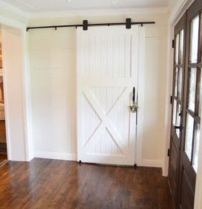Farmhouse Door Design For Decorating Your House 38