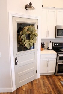 Farmhouse Door Design For Decorating Your House 40