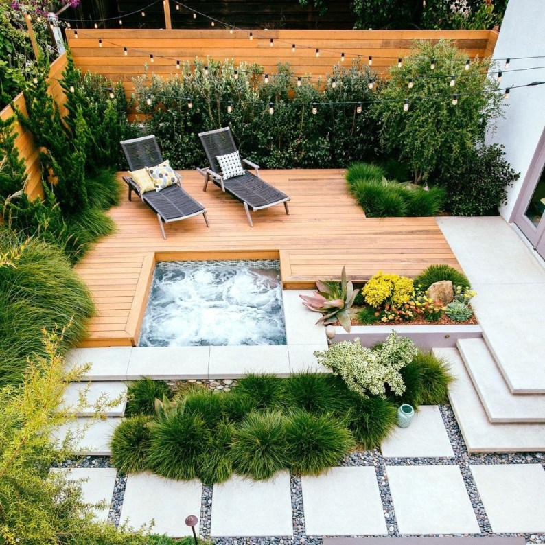 Great Ideas To Decorate Your Backyard 32