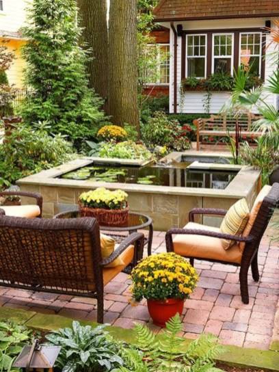 Great Ideas To Decorate Your Backyard 35