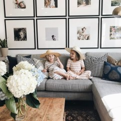 How To Create Wall Gallery In Above The Sofa 04