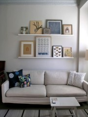 How To Create Wall Gallery In Above The Sofa 11