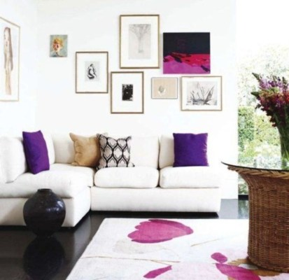 How To Create Wall Gallery In Above The Sofa 15