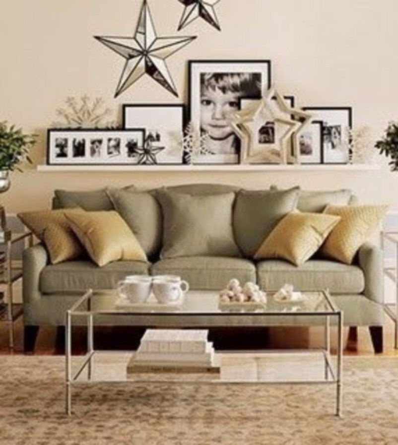How To Create Wall Gallery In Above The Sofa 20