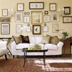 How To Create Wall Gallery In Above The Sofa 27