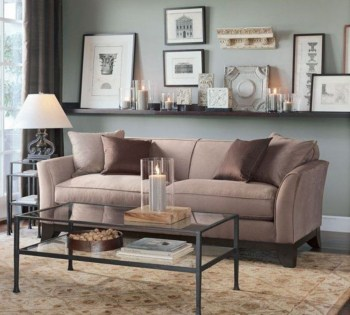 How To Create Wall Gallery In Above The Sofa 33
