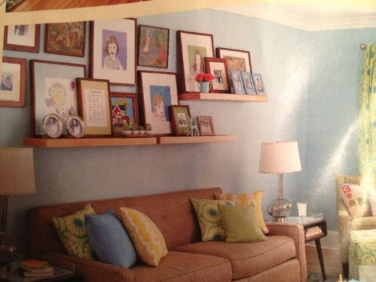 How To Create Wall Gallery In Above The Sofa 41