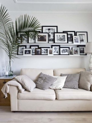 How To Create Wall Gallery In Above The Sofa 42