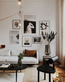 How To Create Wall Gallery In Above The Sofa 47