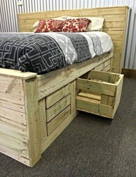 How To Make DIY Pallet For Storage Ideas 07