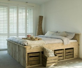 How To Make DIY Pallet For Storage Ideas 23