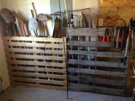 How To Make DIY Pallet For Storage Ideas 24
