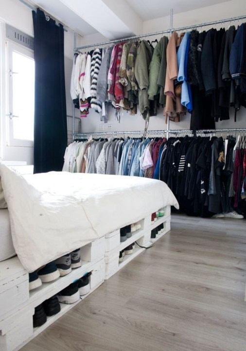 How To Make DIY Pallet For Storage Ideas 25