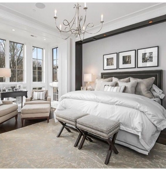 Love The Neutral Color For Master Bedroom Idea 13
