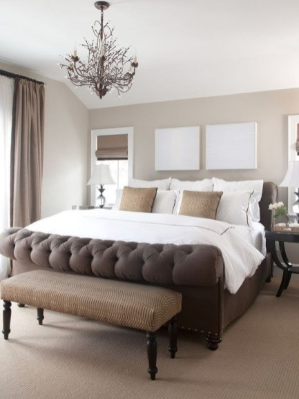 Love The Neutral Color For Master Bedroom Idea 15
