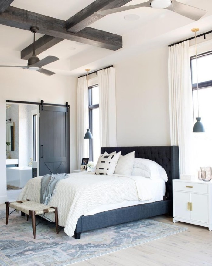 Love The Neutral Color For Master Bedroom Idea 19