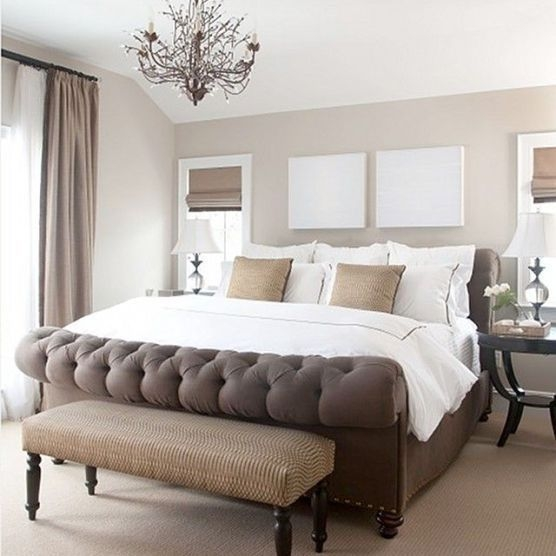 Love The Neutral Color For Master Bedroom Idea 28