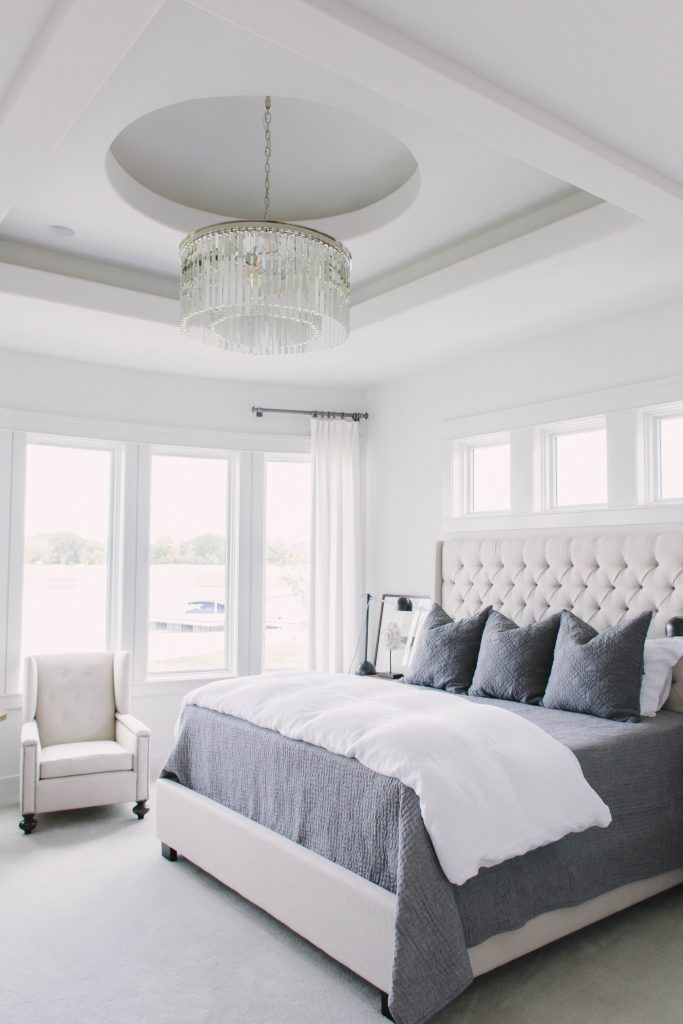 Love The Neutral Color For Master Bedroom Idea 44