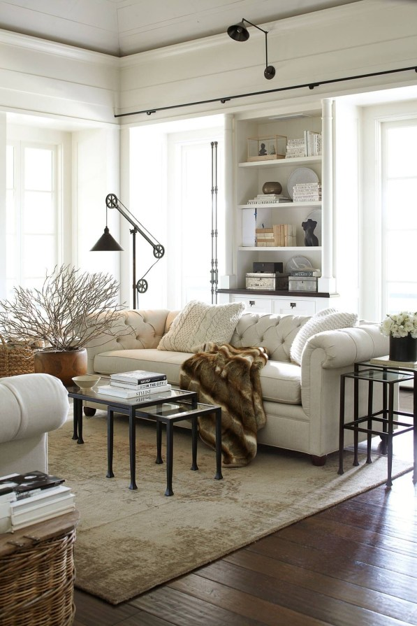 Modern Farmhouse Decoration For Your Living Room 18