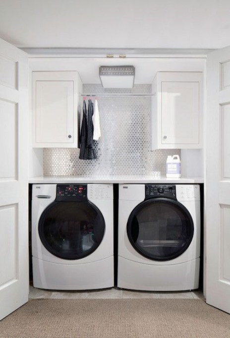 Perfect Laundry Room Decor In Your Tiny House 20