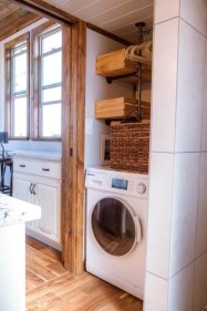 Perfect Laundry Room Decor In Your Tiny House 26