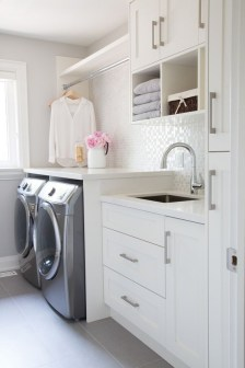 Perfect Laundry Room Decor In Your Tiny House 50