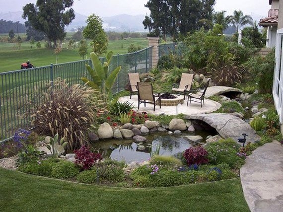 Simply Impressive Sitting Areas For Backyard Landscape 13