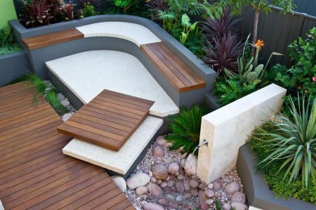 Simply Impressive Sitting Areas For Backyard Landscape 26