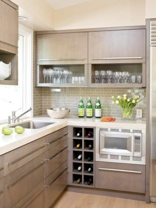 Stunning Kitchen Storage For Small Space 47