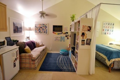 Ways To Make Space Divider In Your Small Apartment 33