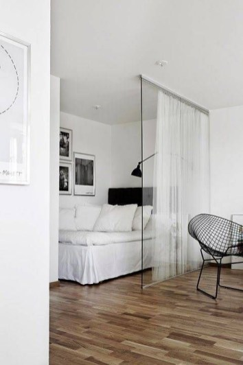 Ways To Make Space Divider In Your Small Apartment 35