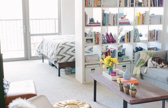 Ways To Make Space Divider In Your Small Apartment 38