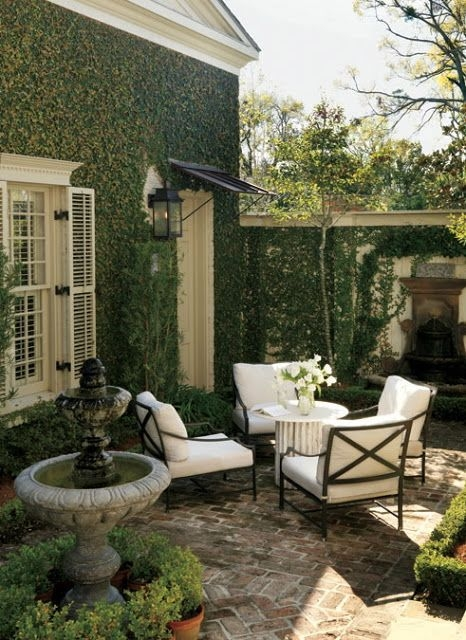 A Cozy Backyard France Terrace Ideas 13
