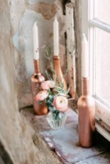 Amazing Inspiration With Bottle Christmas Vases You Can Try 04