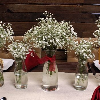 Amazing Inspiration With Bottle Christmas Vases You Can Try 11