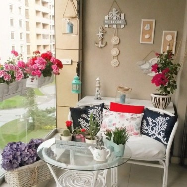 Balcony Garden Ideas For Decorate Your House 37