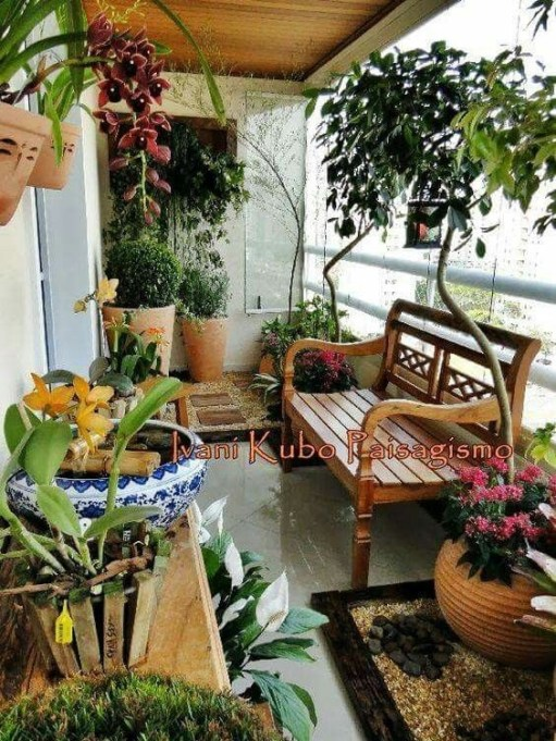 Balcony Garden Ideas For Decorate Your House 42