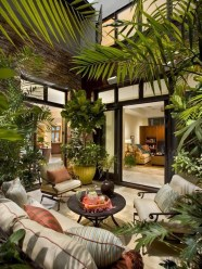 Beautiful Tropical Outdoor Decoration For Cozy Place 14