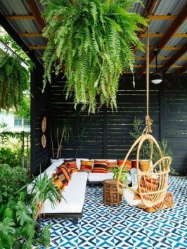 Beautiful Tropical Outdoor Decoration For Cozy Place 16