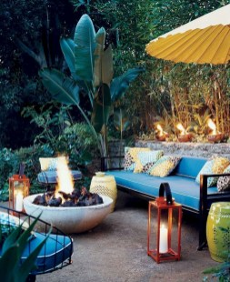 Beautiful Tropical Outdoor Decoration For Cozy Place 34