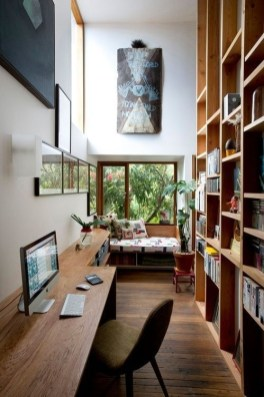 Best Decorating Ideas For Home Office Design 21