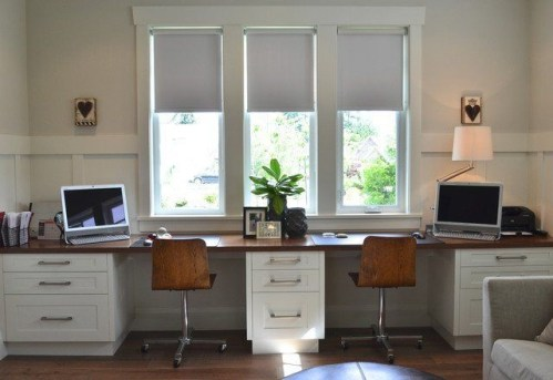 Best Decorating Ideas For Home Office Design 23