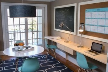 Best Decorating Ideas For Home Office Design 29