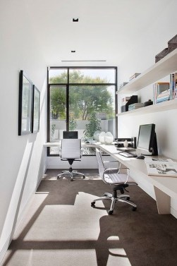 Best Decorating Ideas For Home Office Design 33