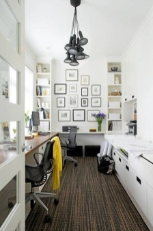 Best Decorating Ideas For Home Office Design 45