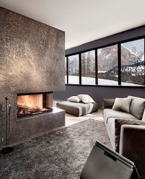 Best Decorating Ideas For Winter Fireplace 24
