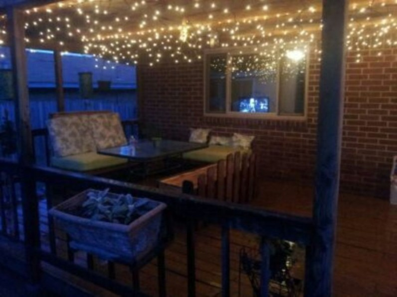 Best Garden Decorate With Some DIY Hanging Lights 10