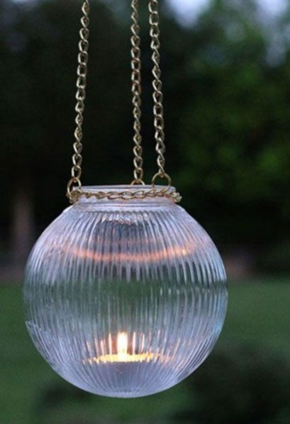 Best Garden Decorate With Some DIY Hanging Lights 19