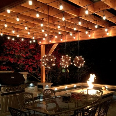 Best Garden Decorate With Some DIY Hanging Lights 24