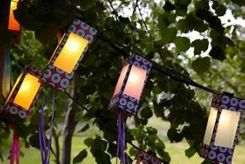 Best Garden Decorate With Some DIY Hanging Lights 35